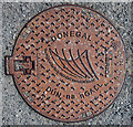 C0237 : Manhole cover, Dunfanaghy by Rossographer