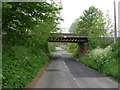SE6025 : Railway bridge, Temple Hirst by JThomas