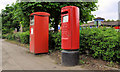 J3477 : Pillar box and metered-mail box, Belfast by Albert Bridge