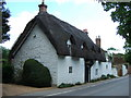 TL1696 : Thatched cottage in Orton Longueville, Peterborough by Richard Humphrey