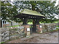 SD3687 : St Peter's Church, Finsthwaite, Lychgate by Alexander P Kapp