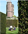 TQ8038 : Tower at Sissinghurst Castle by Graham Horn