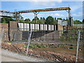 SP0177 : Former railway cutting onto Longbridge site by Michael Westley