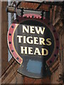 TQ3975 : Sign for The New Tigers Head, Lee Road, Lee Green, SE12 by Mike Quinn