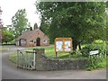 SP1867 : Lowsonford village hall and parish noticeboard by Robin Stott