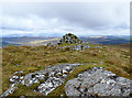 NG4440 : Skriaig summit cairn by John Allan