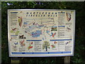 TM2446 : Martlesham Circular Walks information board by Adrian Cable