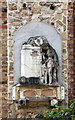 TQ2276 : St Mary, Church Road, Barnes - Exterior wall monument by John Salmon