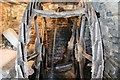 SO3659 : Staunton Mill - waterwheel by Chris Allen