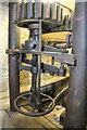 SO7348 : Archer's mill, Cradley - close-up of mechanism by Chris Allen