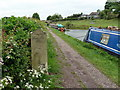 SJ9587 : Milepost on the Macclesfield Canal by Graham Hogg