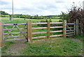 SU7790 : Two gates, two public footpaths by Graham Horn