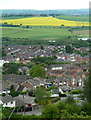 SK4770 : View over Bolsover and Carr Vale by Andrew Hill