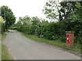SP2658 : Wasperton postbox ref CV35 160 by Alan Murray-Rust