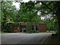 SP3059 : Oakley Wood Crematorium by Alan Murray-Rust