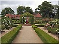 SU9747 : Walled Garden - Loseley Park by Paul Gillett