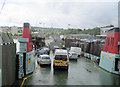 NS2477 : Ready to unload at Gourock Ferry Terminal by John Firth