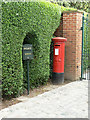 SP1798 : Middleton Post Office postbox ref B78 70 by Alan Murray-Rust