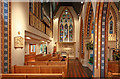 TQ2477 : St Thomas of Canterbury, Rylston Road, Fulham - North aisle by John Salmon