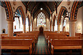 TQ2477 : St Thomas of Canterbury, Rylston Road, Fulham - West end by John Salmon