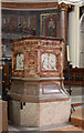 TQ2480 : St Peter, Kensington Park Road, Notting Hill - Pulpit by John Salmon