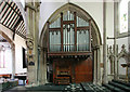 TQ2581 : St Stephen, Westbourne Park Road - Organ by John Salmon