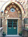 TQ2582 : Doorway of St Saviour's C of E Primary School by David Smith