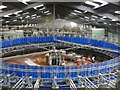 NX4343 : Rotary Parlour at Broadwigg Farm by Andy Farrington