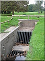 TQ4270 : Culvert on the Kyd Brook, Sundridge Park Golf Course by Mike Quinn