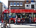 TQ3080 : Hydrogen-powered bus, Covent Garden, London by Ruth Sharville