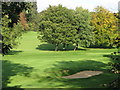 TQ4270 : The valley of the Kyd Brook, Sundridge Park Golf Course by Mike Quinn