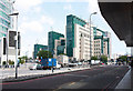 TQ3077 : View from Vauxhall Bus Station by John Salmon