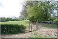 TQ8331 : Waymarker, High Weald Landscape Trail by N Chadwick