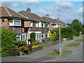 SK3577 : Houses on Hilltop Road, Dronfield by Andrew Hill