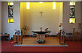 TQ3063 : St Paul, Mollison Drive, Roundshaw Estate - Chancel by John Salmon
