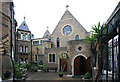 TQ2480 : St Francis of Assisi, Pottery Lane, Notting Hill by John Salmon