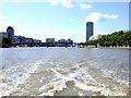 TQ3078 : Lambeth Bridge on The River Thames by PAUL FARMER
