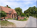 TG0526 : Old School House & Old School Road,Guestwick by Adrian Cable