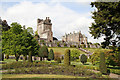 NN8418 : Drummond Castle by Martin Addison