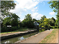 TL4211 : Hunsdon Lock by Stephen Craven