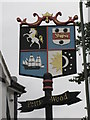 TQ4467 : Petts Wood &quot;village&quot; sign by Mike Quinn