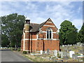 TQ3970 : Cemetery chapel near Bromley by Malc McDonald