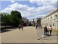 TQ3877 : Gateway at Old Royal Naval College, Greenwich by PAUL FARMER