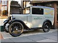 TQ1877 : Austin Seven delivery van, the Original Maids of Honour tea-rooms, Kew: a closer view by Stefan Czapski