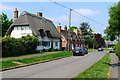 SP8027 : Cottages in Winslow Road, Swanbourne by Cameraman