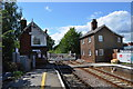 TF1443 : Heckington Level Crossing and Station by Ashley Dace