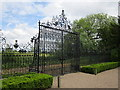 SJ3248 : Gates at Erddig Hall by Jeff Buck