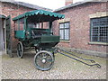 SJ3248 : Horse cart at Erddig Hall by Jeff Buck