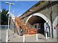 TQ3986 : Leytonstone High Road railway station by Stacey Harris