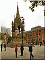SJ8398 : Manchester's Albert Memorial by David Dixon